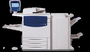 xerox didital printing machine